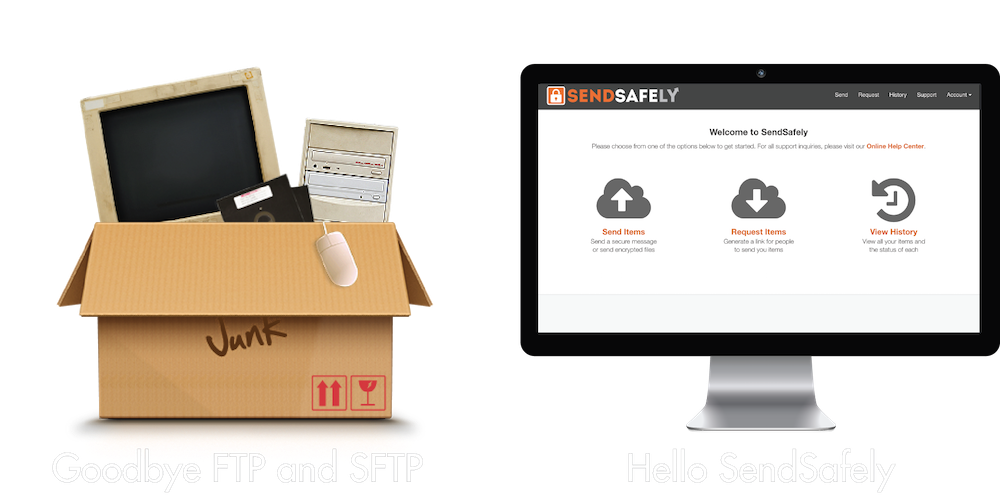 SendSafely Secure File Transfer / SFTP and FTP Alternative